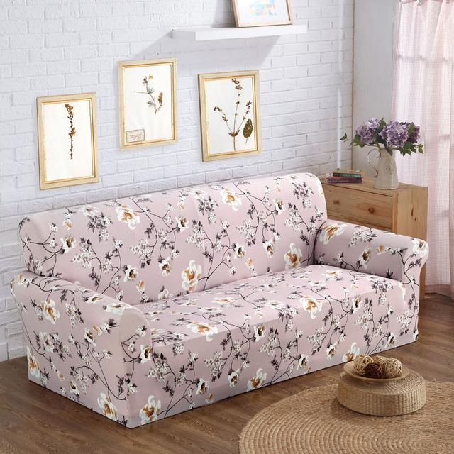 Sofa Chair Cover Printed Design Elastic Armchair Protector Covers