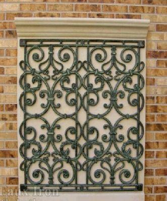 Tableaux Faux Iron Wall Decor #23 | TABLEAUX | Pinterest | Iron ...