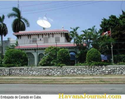 Canadian Embassy in Havana Cuba CUBA, la única villa