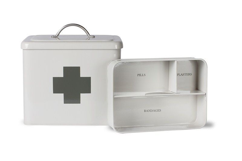 Gentil First Aid Box In Slate At Garden Trading