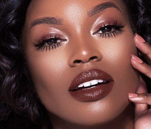 Dark Skin Makeup Lipstick
