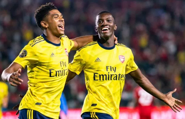 Arsenal's Eddie Nketiah was dumped by Chelsea aged 14 and