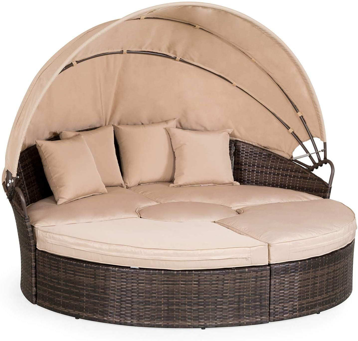 Outdoor Wicker Daybeds Rattan Patio Daybeds In 2020 Wicker