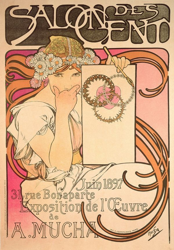 How Alphonse Muchas Iconic Posters Came to Define Art Nouveau