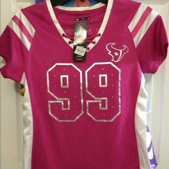 the latest 84cb5 3a578 low cost pink jj watt jersey 41d8c 19b84