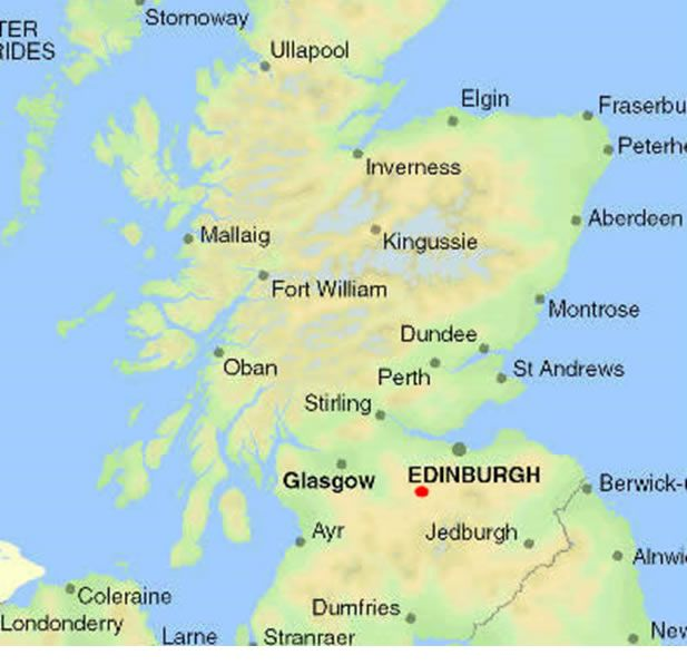 The Two Maps Of Scotland Below Help Identify The Areas