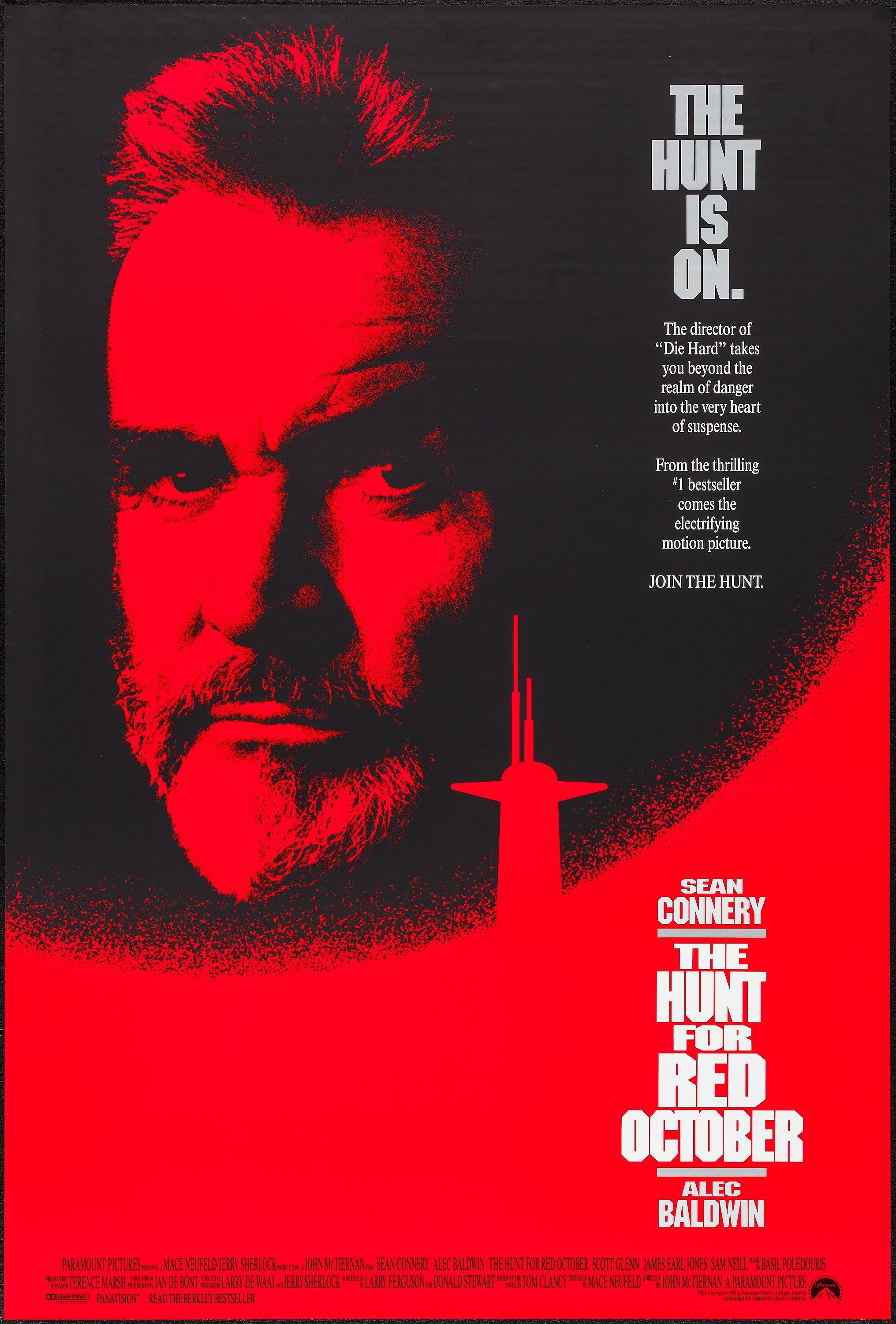 The Hunt For Red October 1990 Red October Movie Movie Posters Tv Series Online