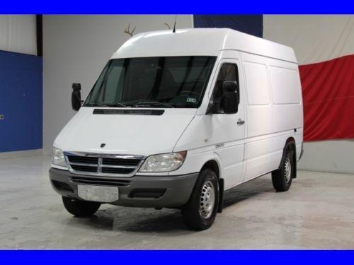 2006 Dodge Sprinter One Owner 2 7l Diesel Cargo Van Extended 140wb