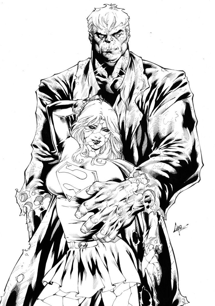 Commission Solomon Grundy Bizarro Supergirl Inks By Caiomarcus Art On Solomon Grundy Grundy Art