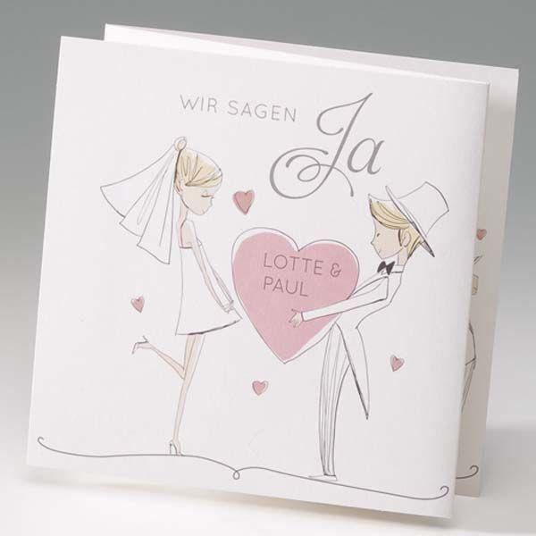 Einladungskarte Paris Sweetwedding Hochzeitskarten Druck Ho