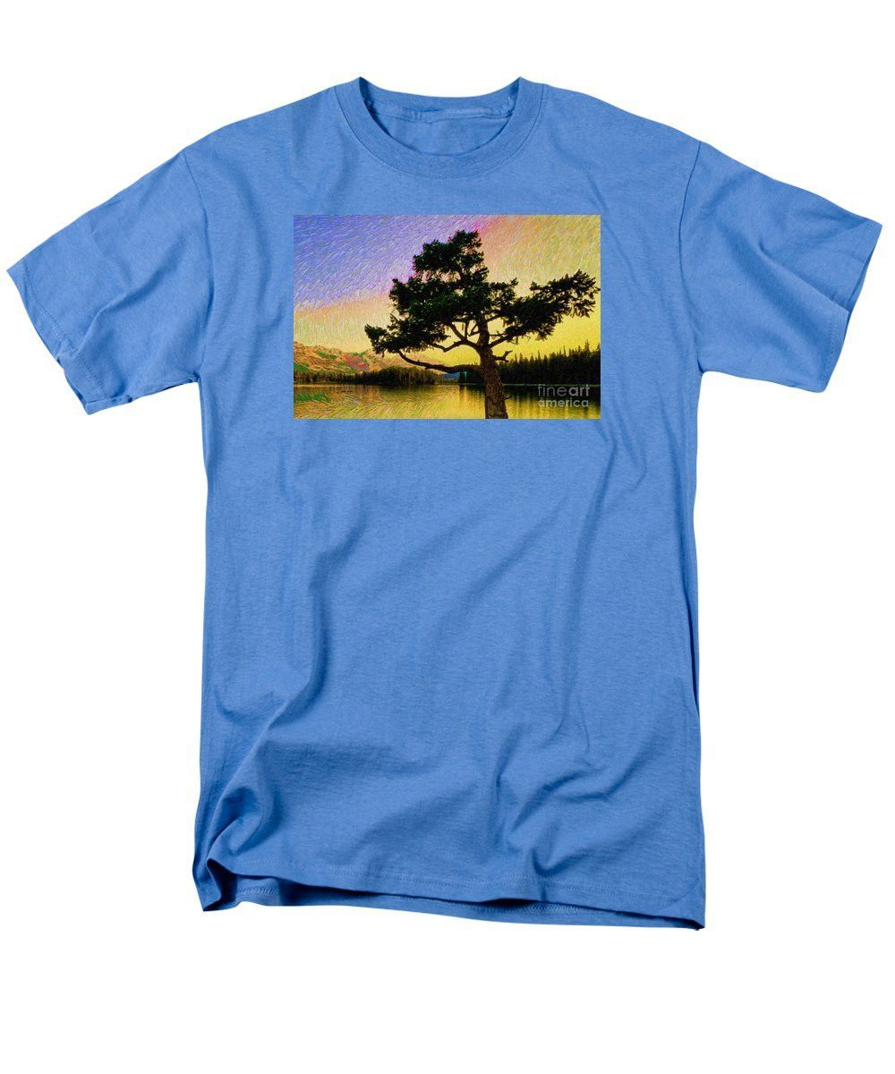 Men's T-Shirt (Regular Fit) - Abstract Landscape 0750