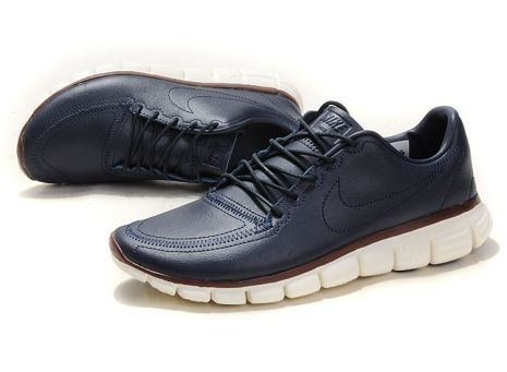 outlet store sale ad0d0 aa6c0 Nike Free 5.0 V4 Deconstruct Mens Shoe Navy Sail Team Brown