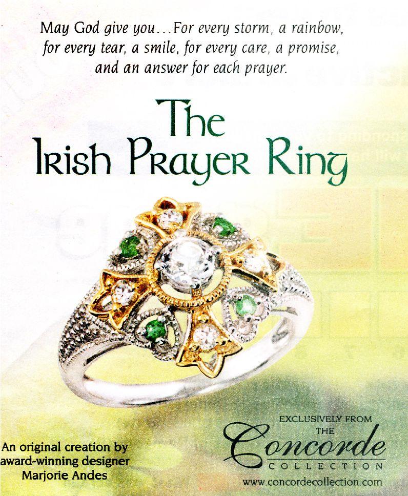 Irish Jewelry, Irish Prayer
