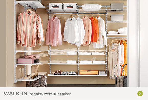 Begehbarer kleiderschrank walk in kleiderschrank pinterest - Begehbarer kleiderschrank regalsystem ...