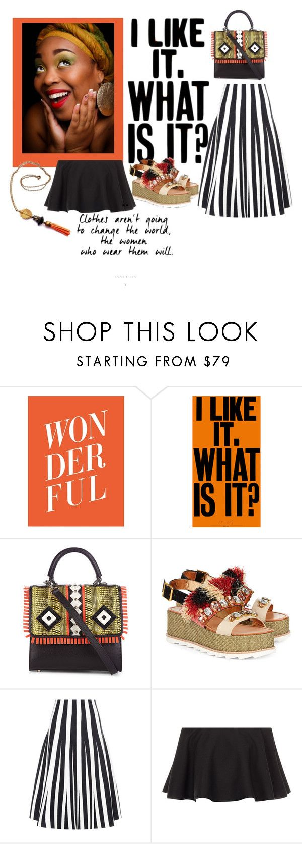 """""""Untitled #413"""" by obsessedaboutstyle ❤ liked on Polyvore featuring Les Petits Joueurs, Sanchita, Alexander Wang, Rosetta Getty, fun, girly and polyvoreeditorial"""