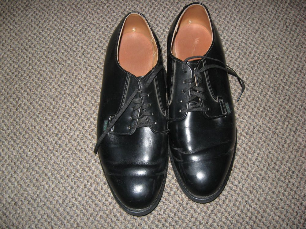 Vintage US Postal Worker Black Oxford Shoes Red Wing Brand Size 10 1/2E #RedWing #Occupational