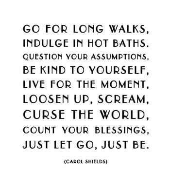 let go, just be <3