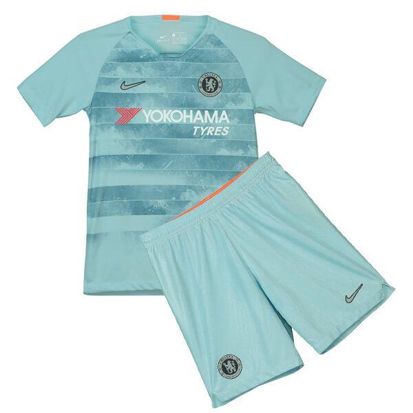 cc76ea452 Cheap Chelsea Third Football Shirt 18 19 Kids