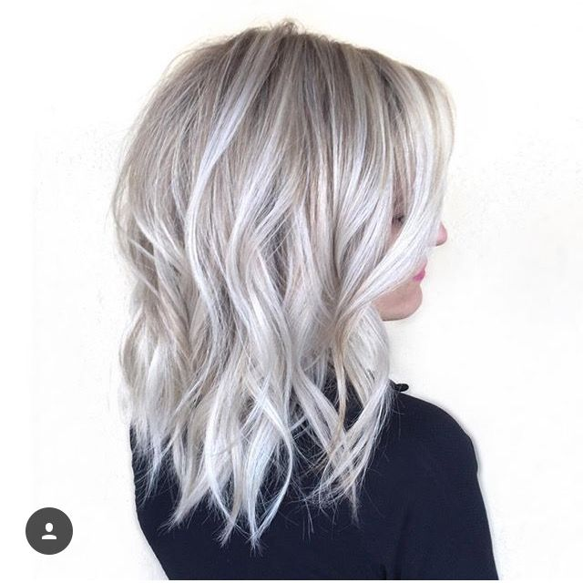 Gorgeous Hairstyles For Long Hair Part 2 Silver Blonde Hair