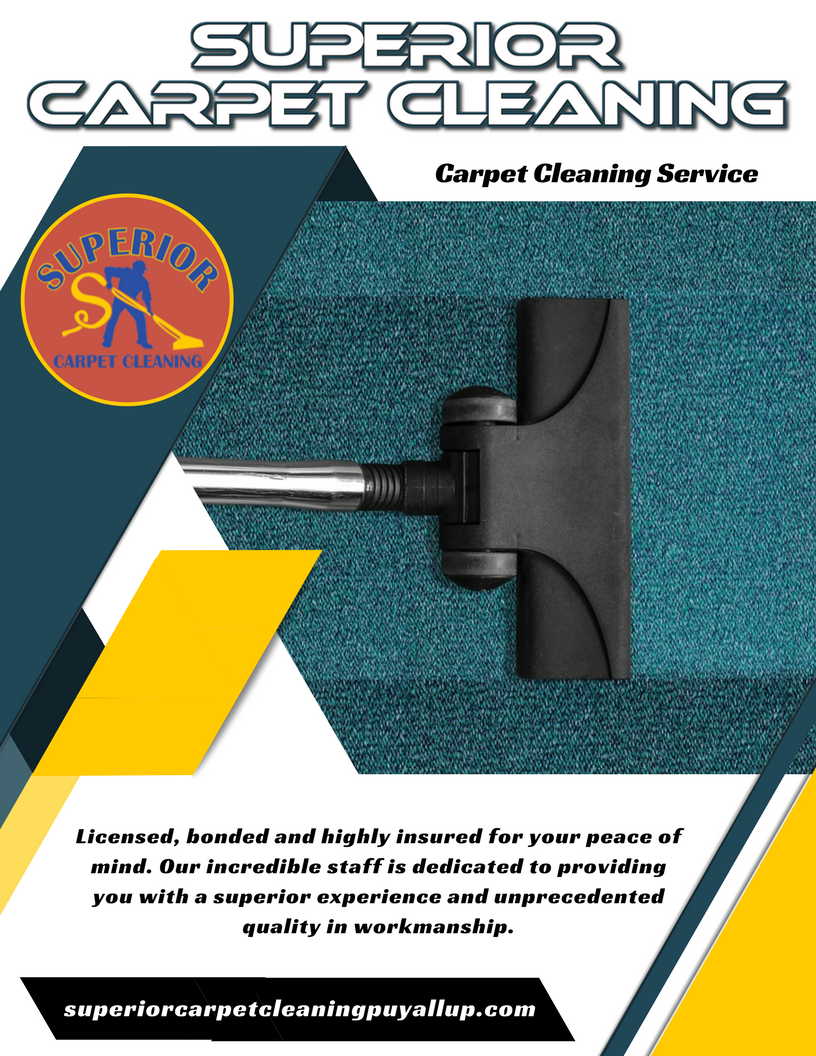 Services Offered Carpet Steam Cleaning in Puyallup, WA