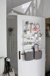 Ikea Skadis Pegboard Ideas Inspiration Apartment Therapy Homeofficefurnitur Idea
