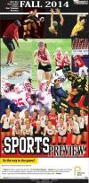 Cedar Falls Times Special Edition Fall Sports Preview 2014