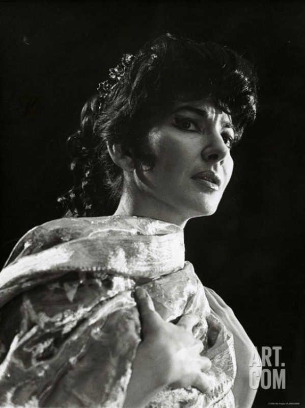 Maria Callas as Floria in Tosca
