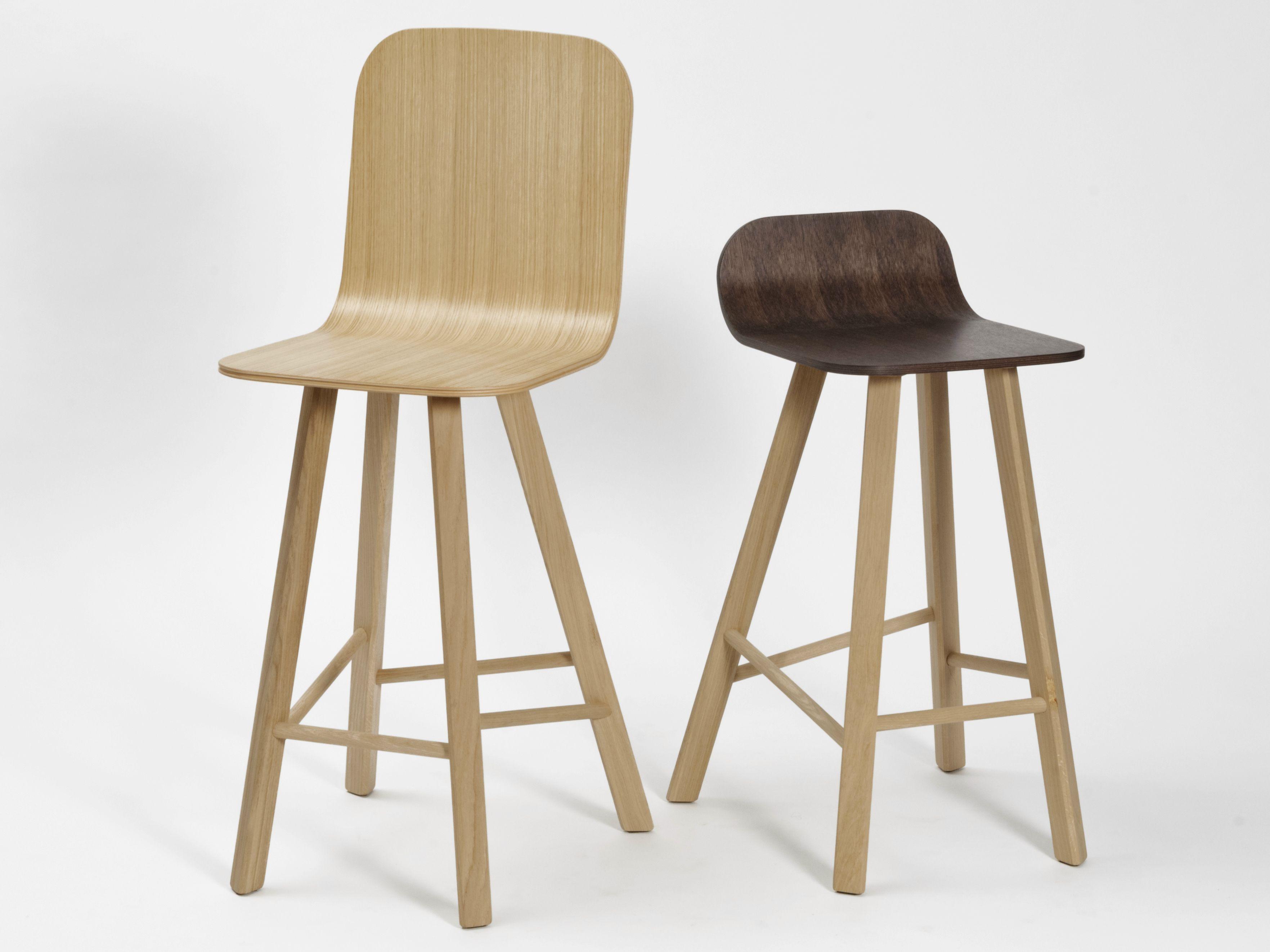 Tria Chaise De Bar By Cole Italian Design Label Design Lorenz Kaz Bar En Bois Chaise Bar Tabouret