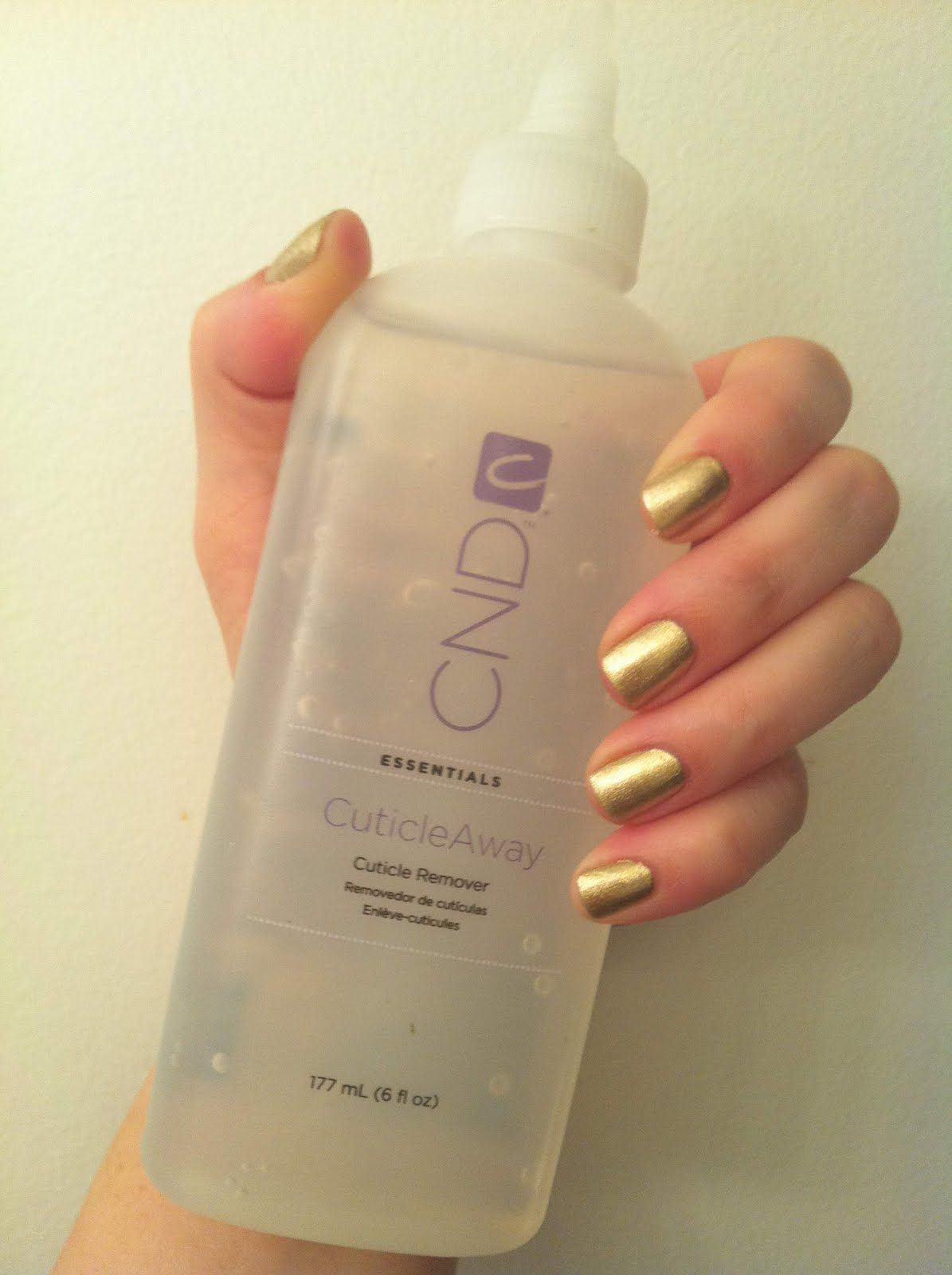 Pure Spa Direct Blog: Manicurist MUST HAVE - CND Cuticle Away -- Our ...