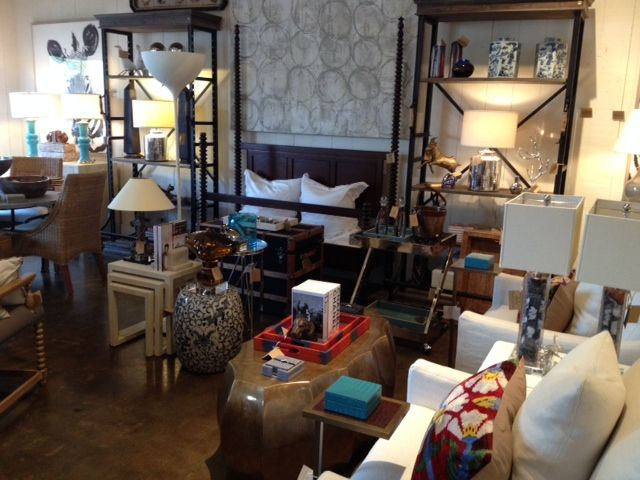 Bookcases and lighting #room #design at #LA #Mecox #interiordesign ...