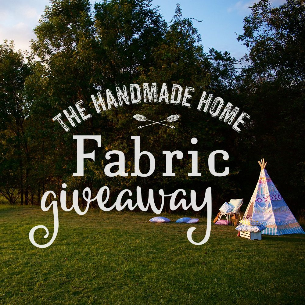 fabric inspiration {and a giveaway!} - the handmade home