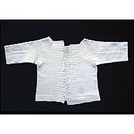Gorgeous knitted baby shirt from the 1700s