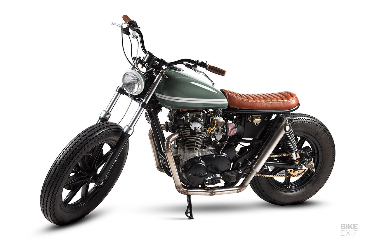 No Excess A Supremely Elegant Xs650 From Portugal Xs650 Brat