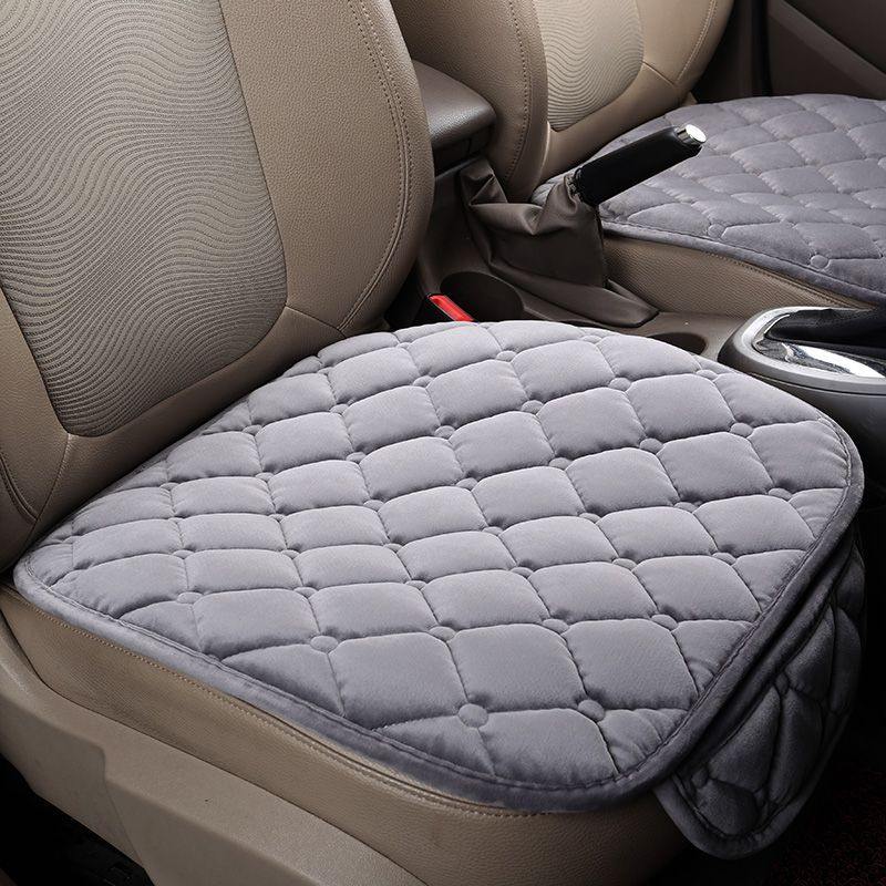 New Universal Velvet Car Seat Cushions For Bmw F10 F11 F15 F16 F20 F25 F30 F34 E60 E70 E90 1 3 4 5 7 Series Gt Car Seats Car Seat Protector Seat Cushion Covers