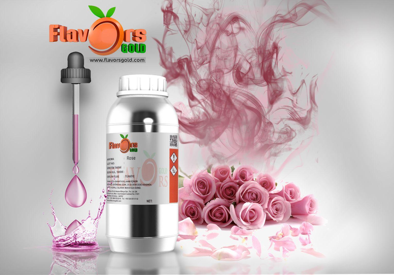 نكهة ماء الورد Rose Flavors