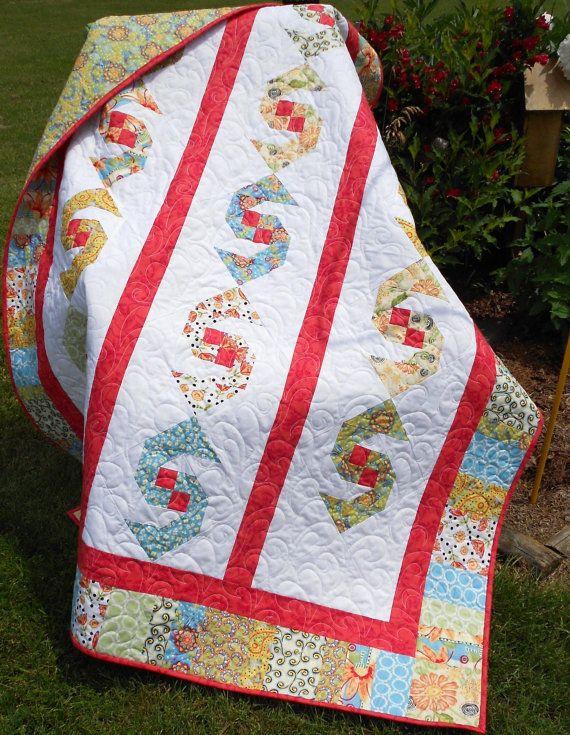 Quilt Pattern Pdf Instant Download Jubilee Swirl Modern Fat