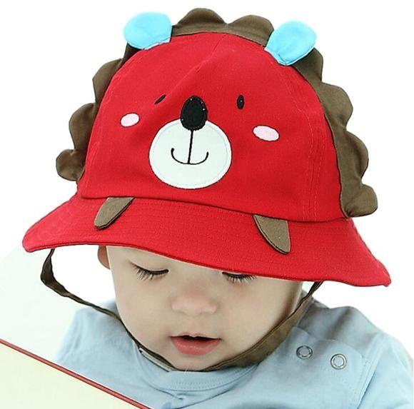 a4f36098 Cute Baby Sun Hat Girls Hats Cap Newborn Photography Props Boys Hats  Children Cap Kids Beach Bucket Caps for Summer Autumn