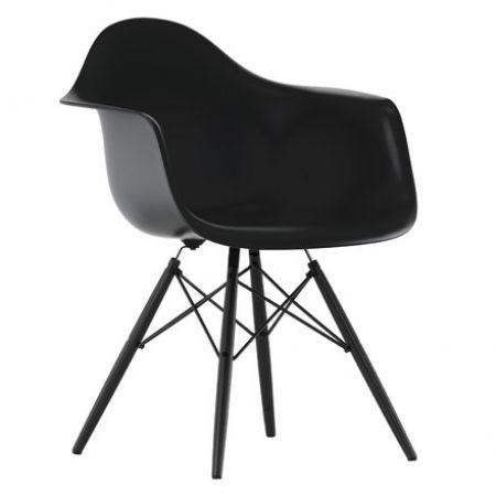 Superb Vitra Eames Plastic Armchair DAW Schwarz Amazing Design