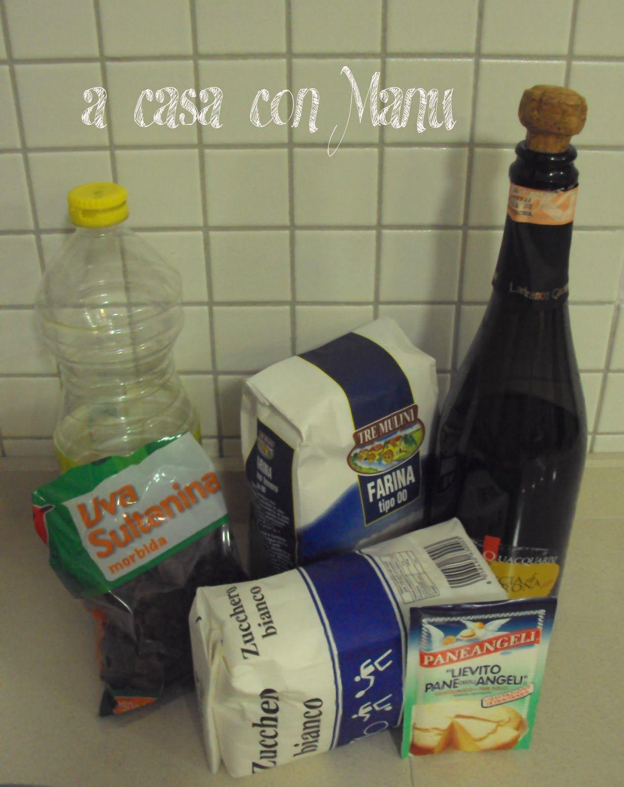 ... a casa con Manu: Biscotti al vino
