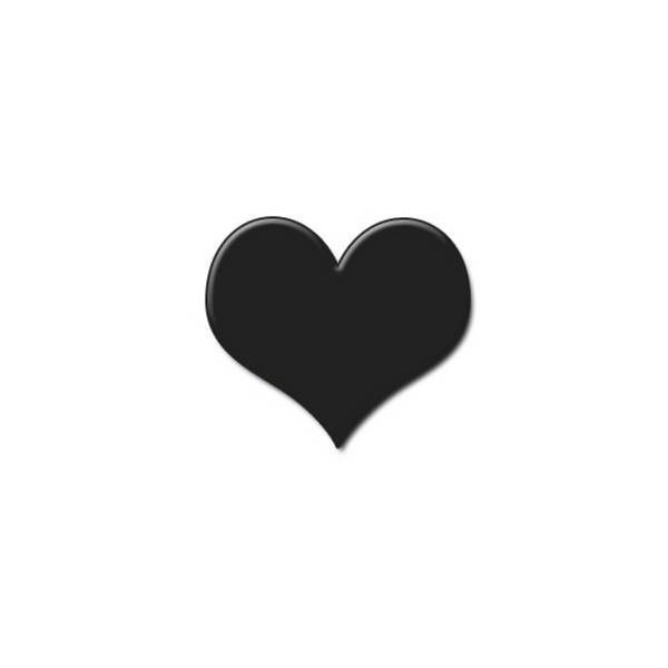20+ Small Heart Clipart Black And White