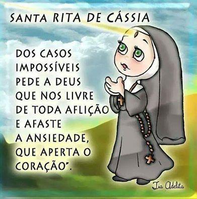 Santa Rita De Cássia Frases 3 Oração De Santa Rita Deus E