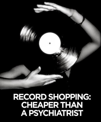 Vinyl Record Shopping Cheaper Than A Psychiatrist