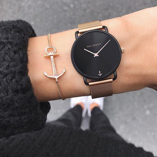 Shopping Rule If It S Not Black Put It Back We Ve Got You Discover Our New Mermaid Line Black Sunray Modische Armbanduhren Damenuhr Stilvolle Uhren