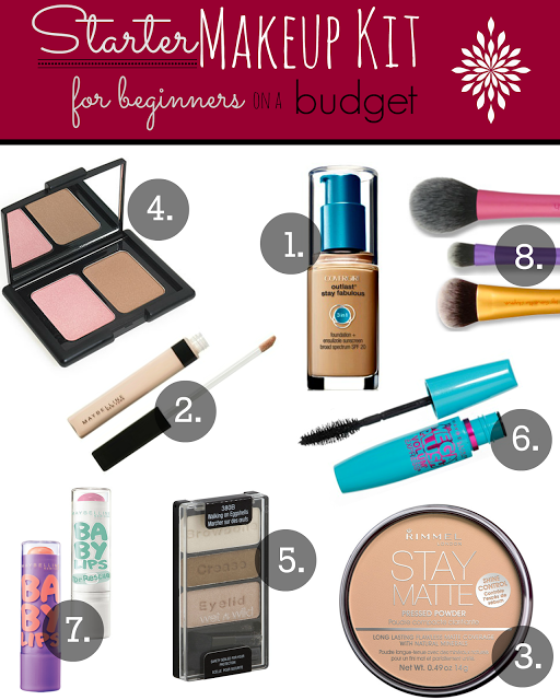 Starter Makeup For Beginners On A Budget!
