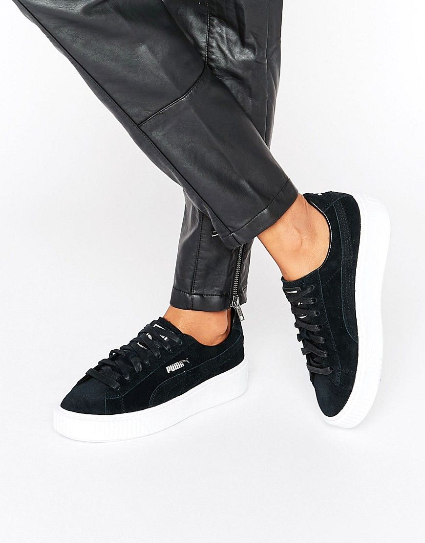 Compra Deportivas de mujer color negro de Puma al mejor precio. Compara  precios de zapatillas de tiendas online como Asos - Wossel España