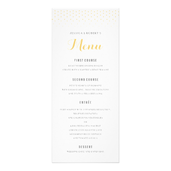 Marvelous Fully Editable Gold And White Formal Dinner Menu With Diamond Pattern At  The Top. Can Also Be Used As A Program. #formal #dinner #menu #template  #wedding ... To Formal Dinner Menu Template