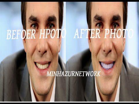How To Whiten Teeth In Photoshop Minhazurnetwork Pinterest