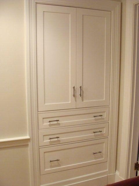 built in linen bathroom ideas pinterest linens