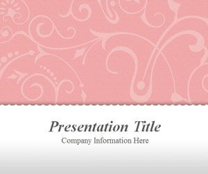 If You Need An Elegant Powerpoint Template For Your Fashion