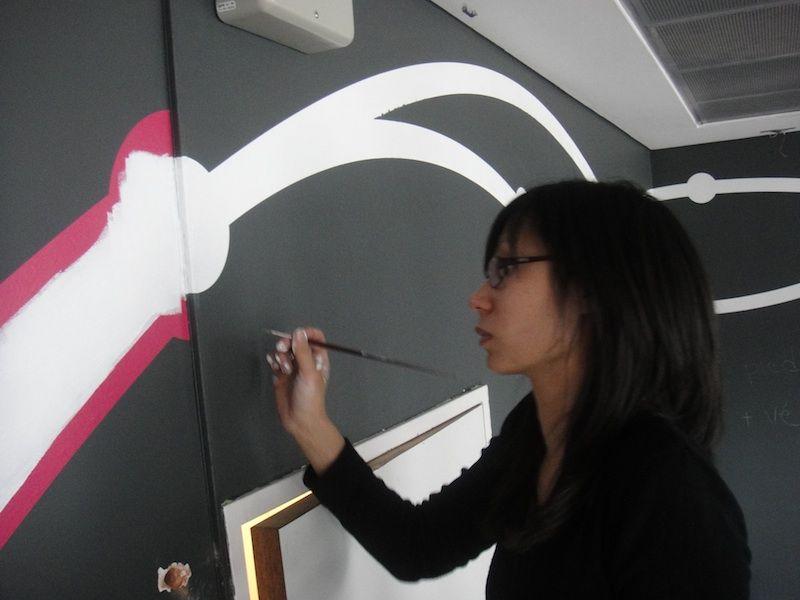 Peindre des lignes droites sur un murs Intérieur - Salon Pinterest - Peindre Un Mur Interieur